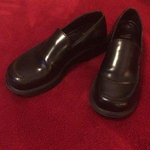 Dansko Euro Sz 40 Black Shoe Molded Sole